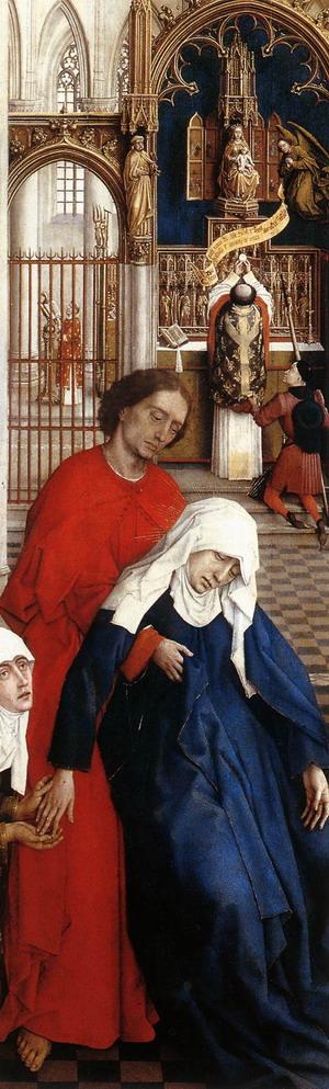 Seven Sacraments Altarpiece (detail) 1445-50