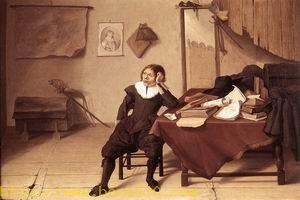 Student in his Study 1628