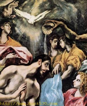 The Baptism of Christ (detail) 1608-28