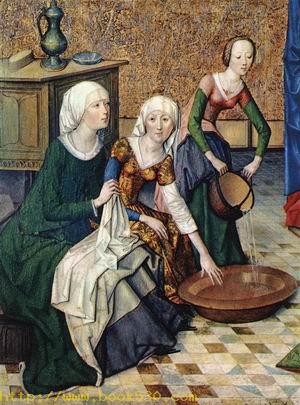 The Birth of Mary (detail) c. 1470