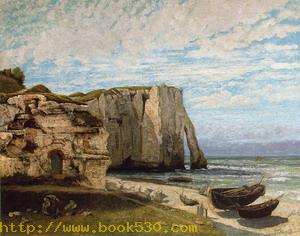 The Cliff at Etretat after the Storm 1869
