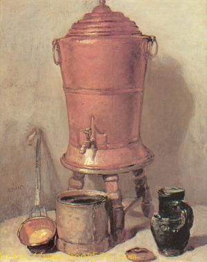 The Copper Water Urn 1734