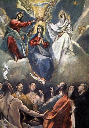The Coronation of the Virgin 1591