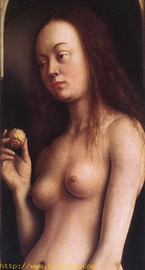 The Ghent Altarpiece, Eve (detail) 1425-29