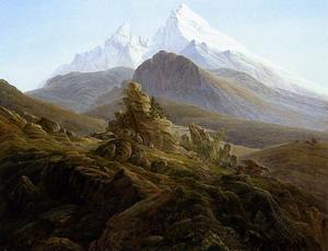 The Watzmann 1824-25