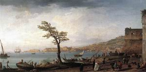 View of Naples 1748