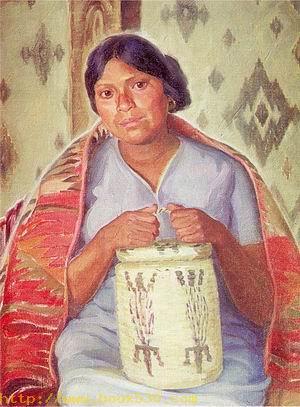 Yaqui Indian Woman
