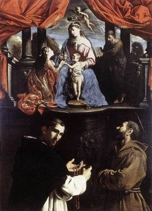 The Mystic Marriage of St Catherine of Alexandria c. 1632
