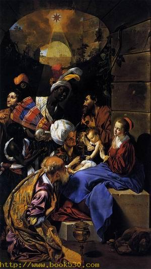 Adoration of the Kings 1612