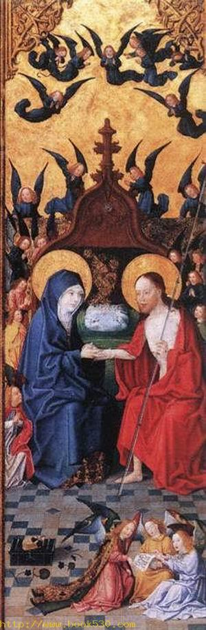 Altarpiece of the Seven Joys of Mary(right) c. 1480