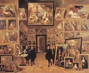 Archduke Leopold Wilhelm in his Gallery c. 1647