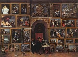 Archduke Leopold Wilhelm of Austria in his Gallery 1651