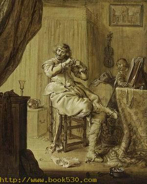 Cavalier at His Dressing Table 1631