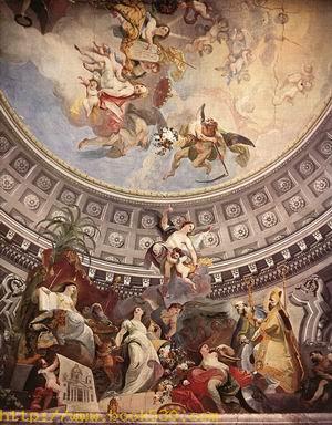 Ceiling decoration 1782