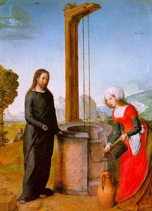 Christ and the Woman of Samaria before 1504