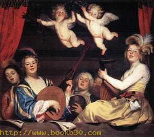 Concert on a Balcony 1624