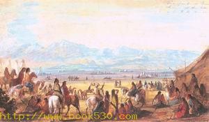 Encampment on Green River 1837