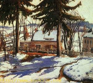 February Thaw, Silvermine, Connecticut, 1917