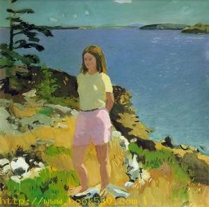 Girl in a Landscape 1965