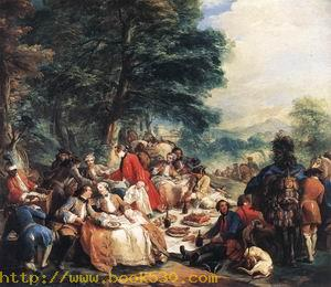 Halt During the Hunt 1737