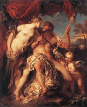 Hercules and Omphale 1724