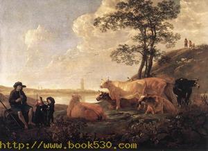 Landscape near Rhenen 1650-55