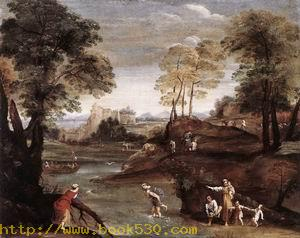 Landscape with Ford c. 1603