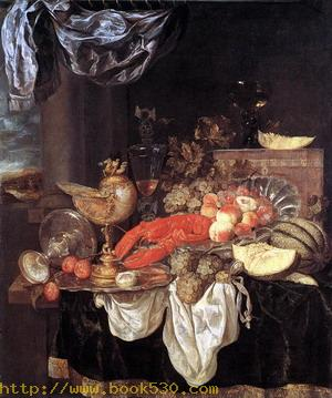 Large Still-life with Lobster 1653
