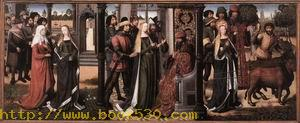 Legend of St Lucy 1480