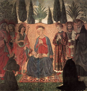 Madonna and Child with Saints c. 1454