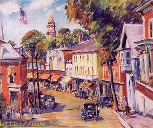 Main Street in Gloucester 1932