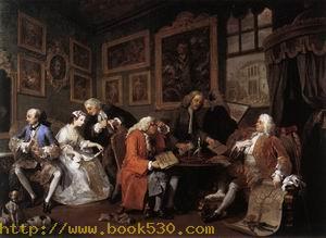 Marriage a la Mode c. 1743