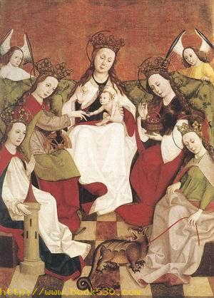 Marriage of Saint Catherine c. 1500