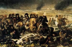 Napoleon Bonaparte on the Battlefield of Eylau 1807