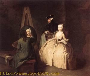 Painter in his Studio 1740-45