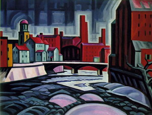 Paterson Centre (Expression of a Silktown) 1914