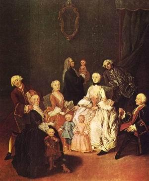 Patrician Family c. 1752