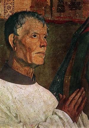 Pieta (detail) c. 1460