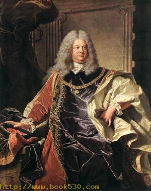 Portait of Count Sinzendorf 1712