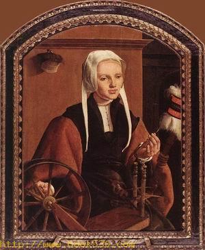 Portrait of Anna Codde 1520
