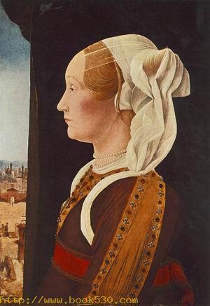 Portrait of Ginevra Bentivoglio c. 1480