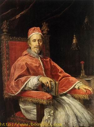 Portrait of Pope Clement IX 1669
