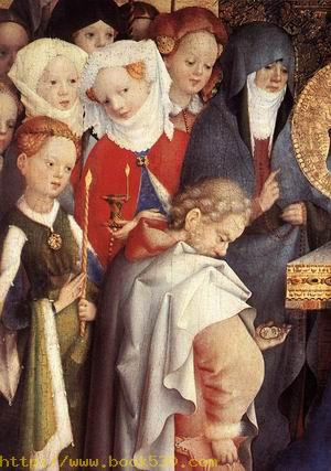 Presentation of Christ in the Temple (detail) 1447
