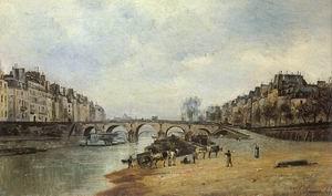 Quais of the Seine, Pont-Marie, 1868