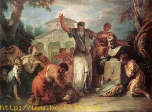 Sacrifice to Silenus c. 1723