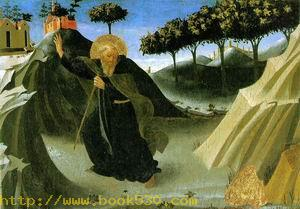 Saint Anthony the Abbott Tempted by a Lump of Gold c.1430
