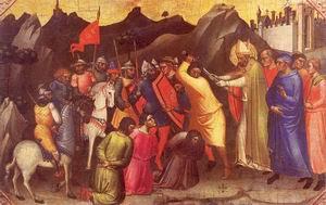 Saint Nicholas Saves Three Innocent Men Approx. 1380