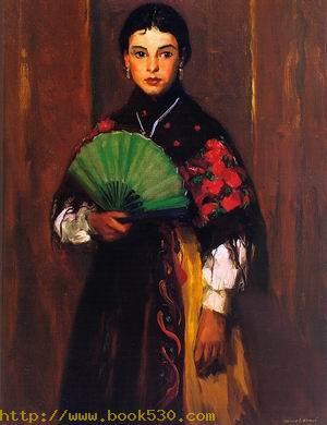 Spanish Girl of Segovia 1912