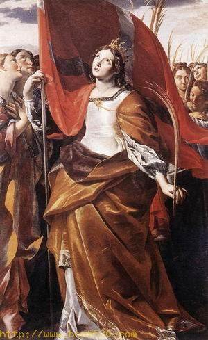 St Ursula and the Virgins 1622