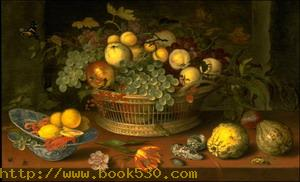 Still Life with a Basket of Fruit 1622